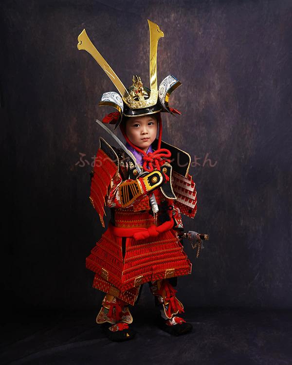 七五三 男の子 5歳 鎧兜