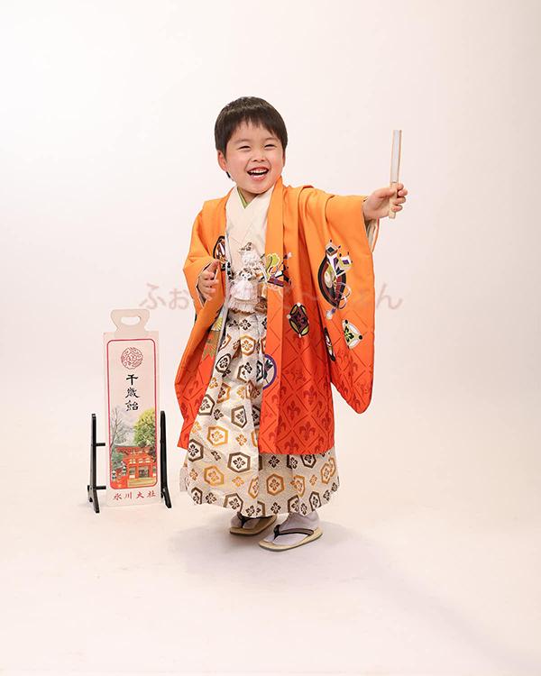 七五三 男の子 5歳 羽織袴